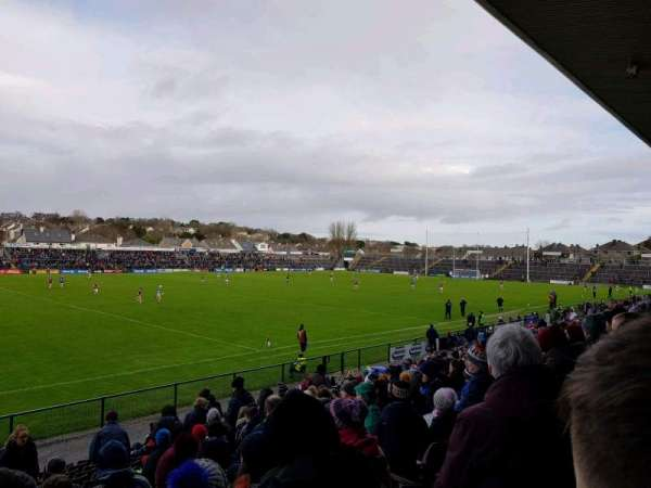 Pearse Stadium, section: K, row: R, seat: 5