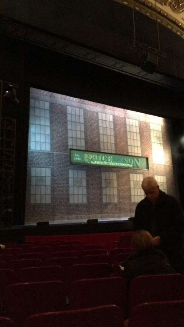 Cadillac Palace Theater, section: Orchestra L, row: K, seat: 15