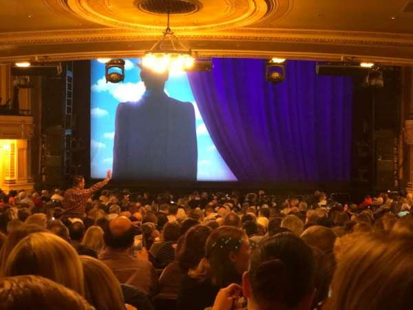 Hippodrome Theatre, section: Center Orchestra, row: EE, seat: 111