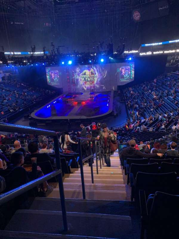 Spectrum Center, section: 116, row: EE, seat: 69