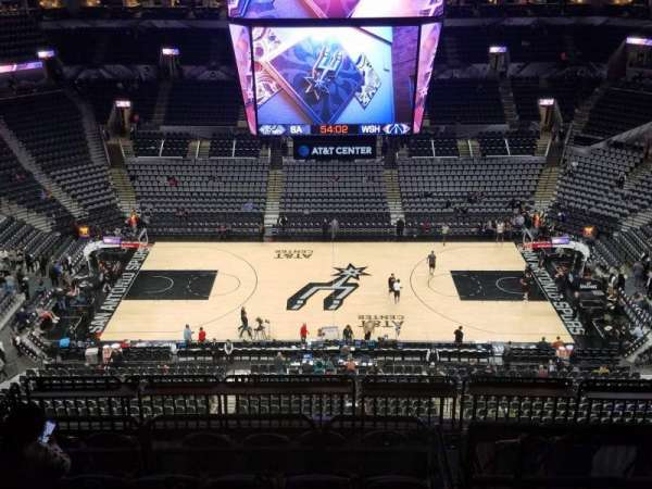 AT&T Center, section: 208, row: 10, seat: 11