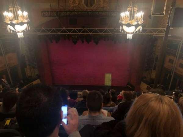 Shubert Theatre, section: Balcony C, row: H, seat: 105