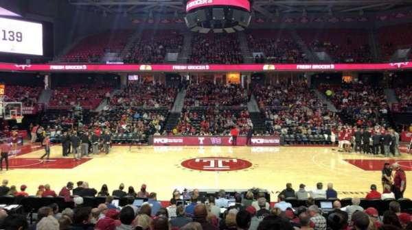 Liacouras Center, section: 113, row: M, seat: 9