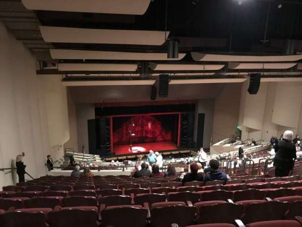 barbara b. mann performing arts hall, section: Balcony, row: YY, seat: 21