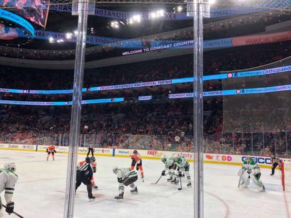 Wells Fargo Center, section: 104, row: 3, seat: 4