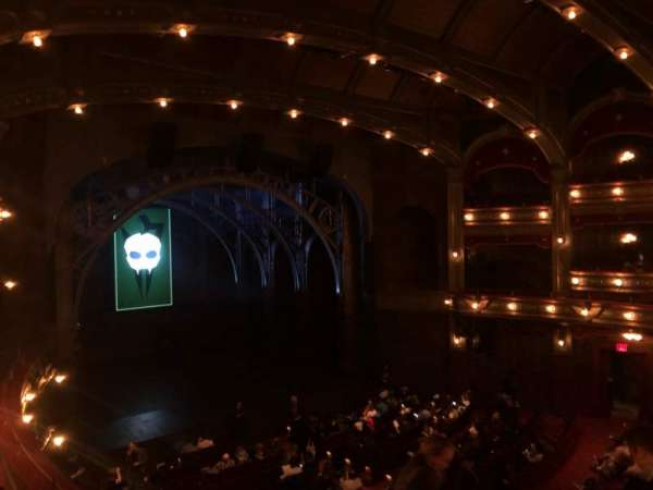 Lyric Theatre, section: Dress Circle L, row: E, seat: 13
