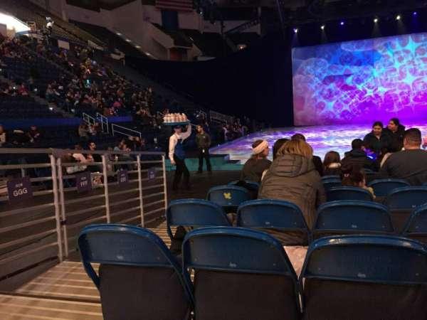 XL Center, section: 122, row: KKK, seat: 8,9,10