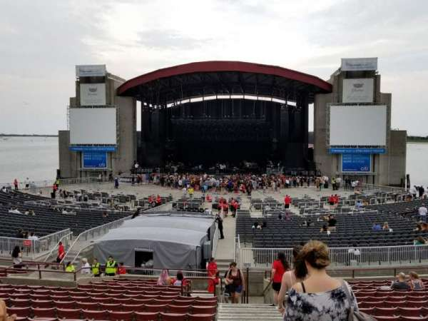 Jones Beach Theater, section: 7R, row: R, seat: 1