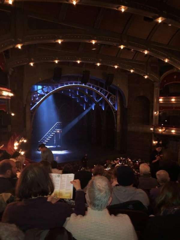 Lyric Theatre, section: Dress circle l, row: 6, seat: 11