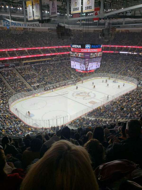 PPG Paints Arena, section: 224, row: l, seat: 6