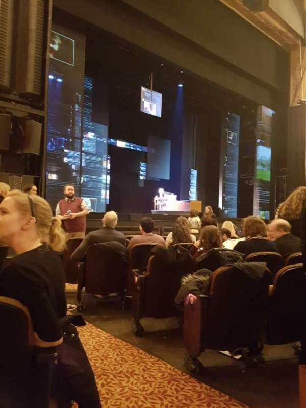 Paramount Theatre (Seattle), section: Main Floor 4, row: H, seat: 2