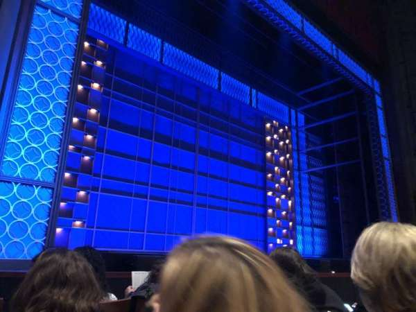 Stephen Sondheim Theatre, section: Orchestra L, row: D, seat: 7