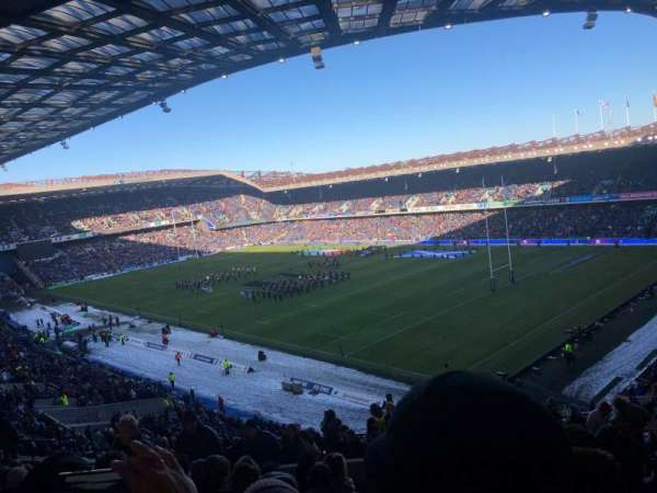 Murrayfield Stadium, section: W 6, row: EE, seat: 28