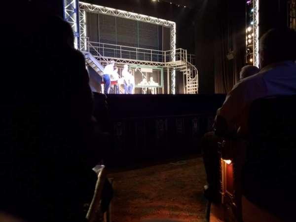 Majestic Theatre - San Antonio, section: orchestra left, row: E, seat: 1