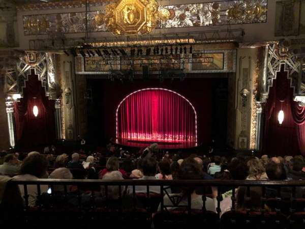 Hollywood Pantages Theatre, section: Mezzanine RC, row: J, seat: 205