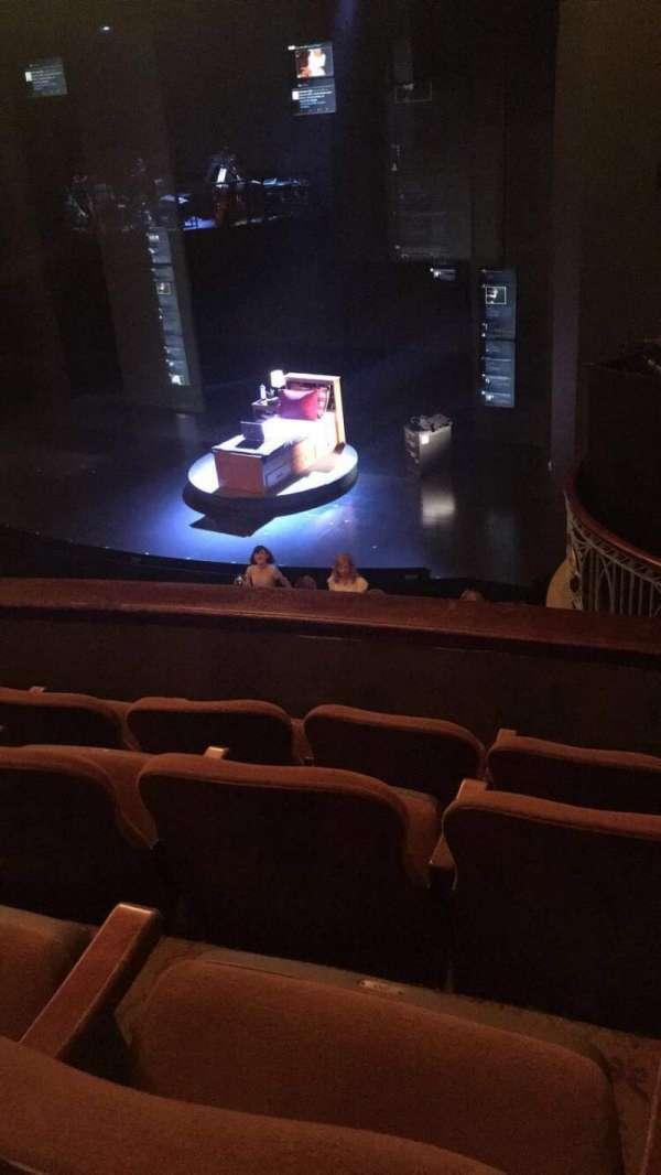 Music Box Theatre, section: Mezzanine R, row: D, seat: 22