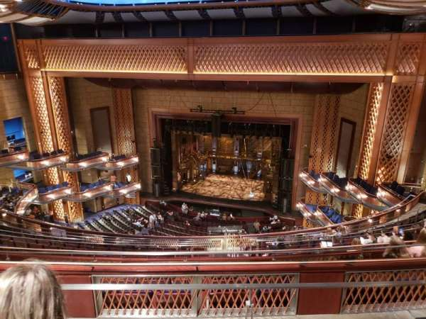 Walt Disney Theatre - Dr. Phillips Center, section: UPPER BALCONY, row: K, seat: 155