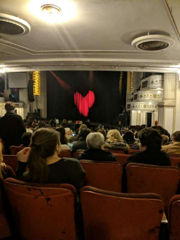 Orpheum Theatre (Boston), section: Orchestra, row: O, seat: 12