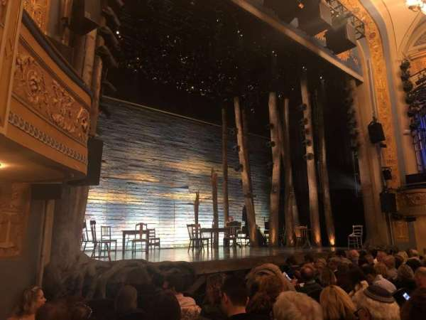 Gerald Schoenfeld Theatre, section: ORCHESTRA L, row: G, seat: 13