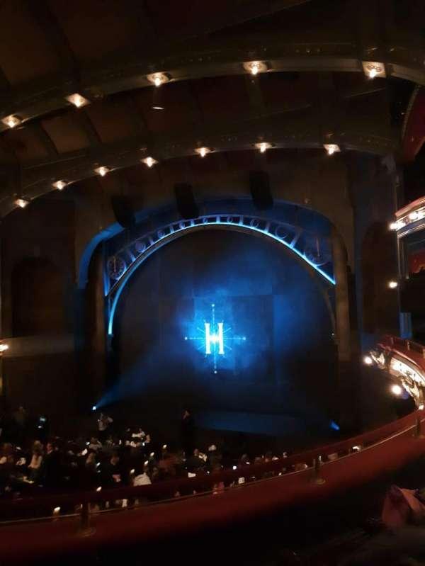 Lyric Theatre, section: Dress Circle R, row: C, seat: 8