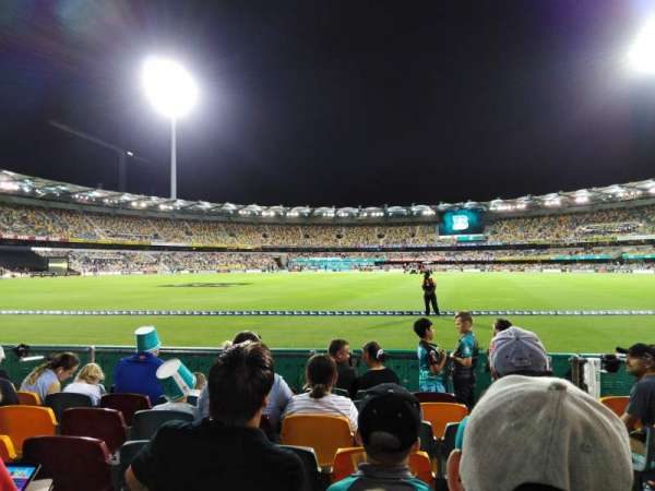 The Gabba, section: 36, row: G, seat: 319