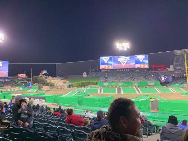 Angel Stadium, section: 112, row: M, seat: 2