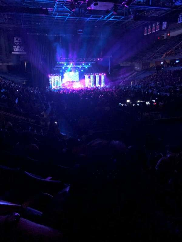 Citizens Business Bank Arena, section: 112, row: M, seat: 3