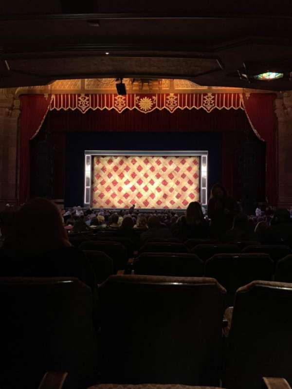 Fox Theatre (Atlanta), section: ORCHC, row: AA, seat: 105