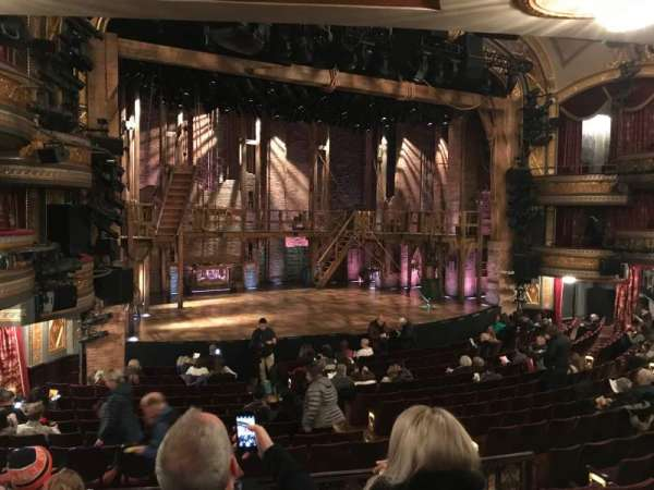 Richard Rodgers Theatre, section: Orchestra, row: Q, seat: 17-19