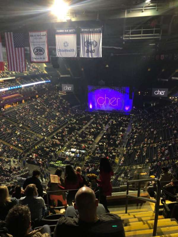 Nationwide Arena, section: 209, row: M, seat: 1