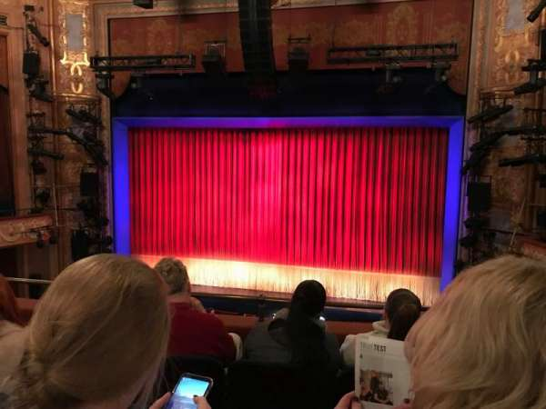 Longacre Theatre, section: Mezzanine C, row: D, seat: 101