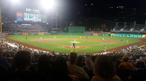 PNC Park, section: 116, row: S, seat: 6