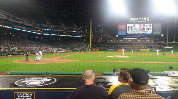 PNC Park, section: 12, row: J, seat: 10
