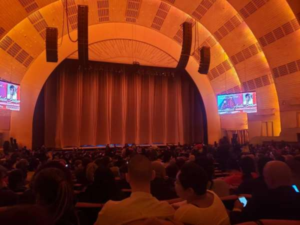 Radio City Music Hall, section: Orchestra 5, row: G, seat: 509