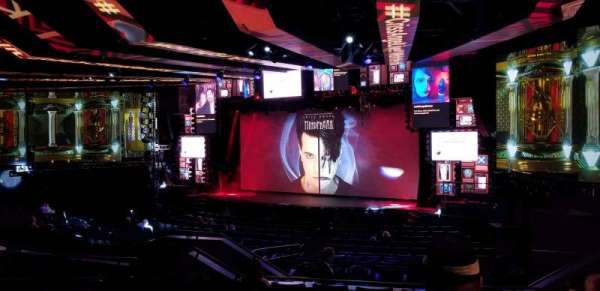 Criss Angel Theater, section: 201, row: H, seat: 11