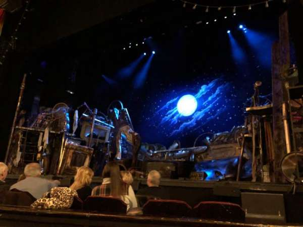 Providence Performing Arts Center, section: ORCH, row: E, seat: 124