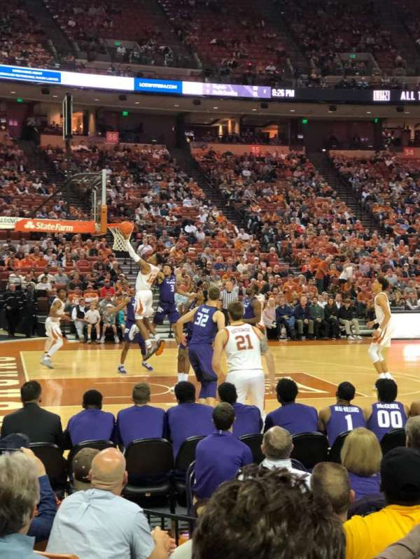 Frank Erwin Center, section: 48, row: 8, seat: 9