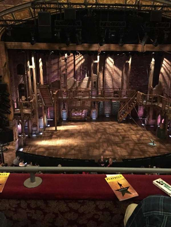 Richard Rodgers Theatre, section: Front Mezzanine C, row: B, seat: 111