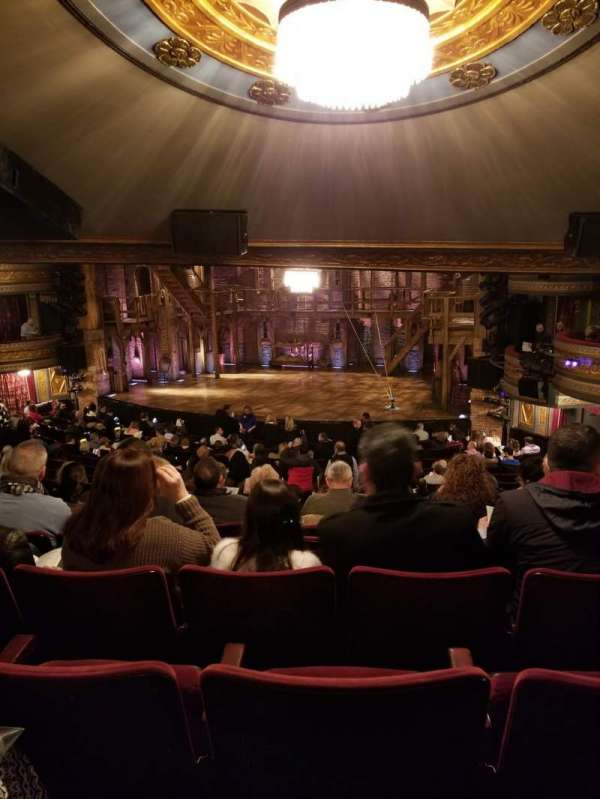 Richard Rodgers Theatre, section: Orchestra, row: V, seat: 16
