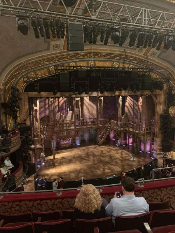 Richard Rodgers Theatre, section: FMezz, row: E, seat: 11