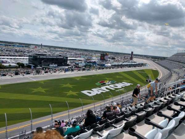 Daytona International Speedway, section: 344, row: 18, seat: 18