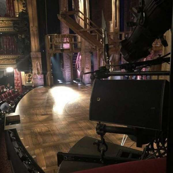 Richard Rodgers Theatre, section: Box C, row: 1, seat: 1