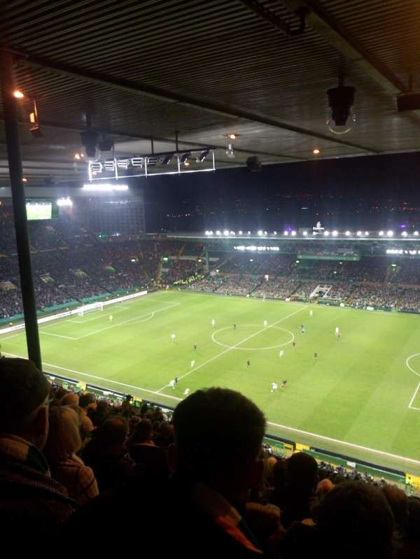 Celtic Park, section: 406, row: Z, seat: 21
