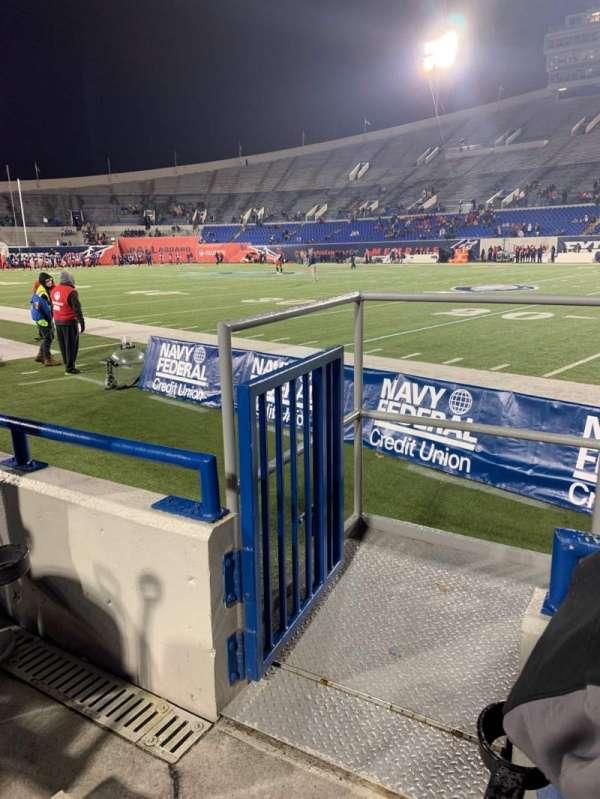 Liberty Bowl Memorial Stadium, section: 117, row: 4, seat: 10