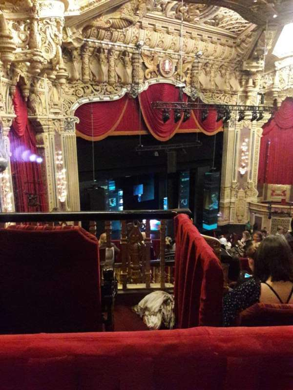 James M. Nederlander Theatre, section: Balcony FL, row: L, seat: 395