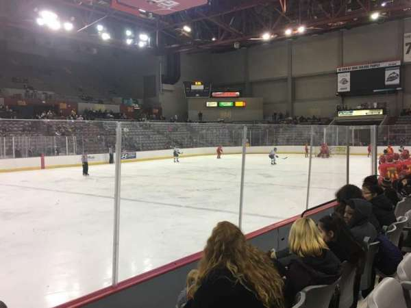 Sullivan Arena, section: 115, row: 8, seat: 12