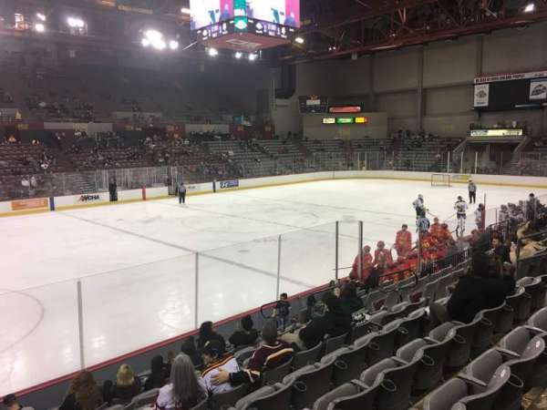 Sullivan Arena, section: 115, row: 15, seat: 11