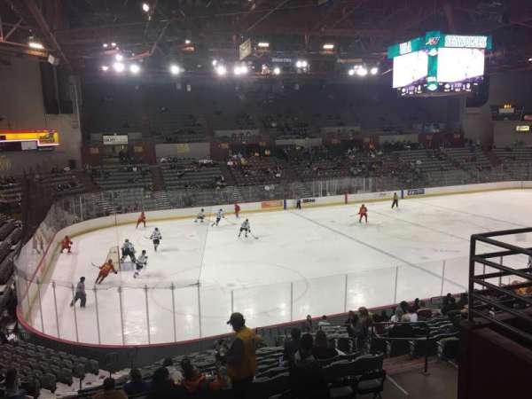 Sullivan Arena, section: 217, row: 4, seat: 9