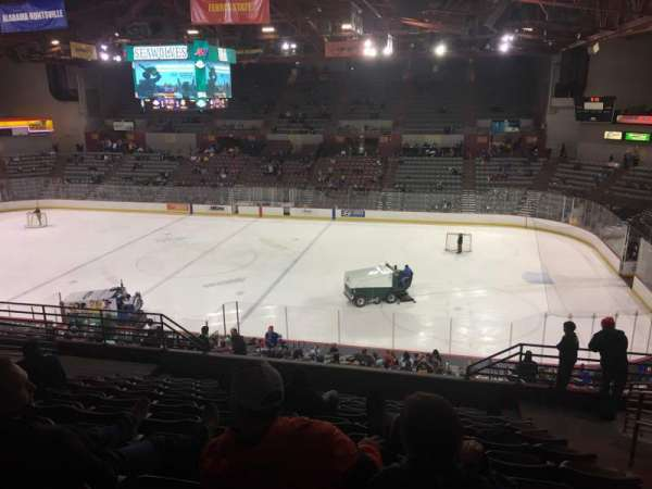 Sullivan Arena, section: 207, row: 10, seat: 3
