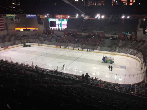 Sullivan Arena, section: 205, row: 15, seat: 5